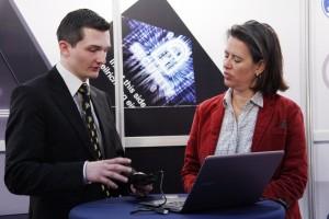 André Gimbut mit Dr. Tamara Zieschang