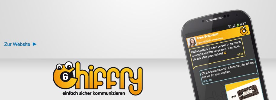 (Deutsch) Chiffry- Kommunikations-App