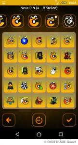 Chiffry gibt es jetzt auch mit Emojis zur PIN-Eingabe.