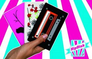HipDisk  – mobil mit Stil - externe Festplatte mit Silikon Schutzhülle