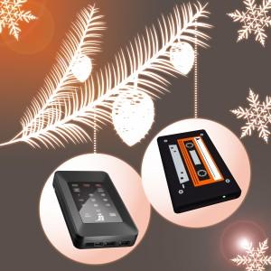 Geschenkidee zu Weihnachten für Mann und Frau HS256 und HipDisk