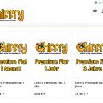 Chiffry Premium im Online Shop für datenschutzkonforme Kommunikation