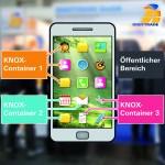 Die sichere Kombination bestehend aus Chiffry und Samsung KNOX