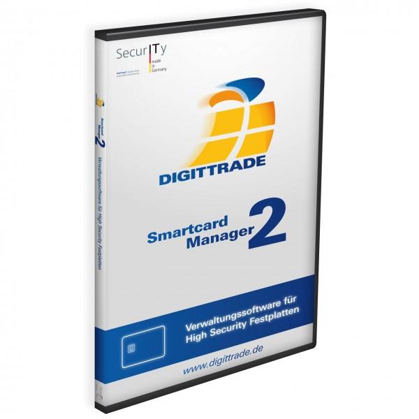 DIGITTRADE Smartcard Manager 2 inkl. 2x NXP Smartcards + 1x Administrator-Token