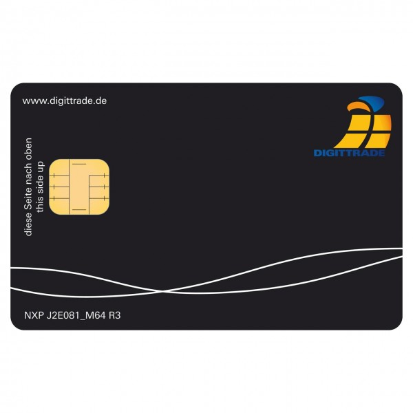 Smartcard für HS256 S3 NXP J2E081 JCOP v2.4.2 R3 EAL5