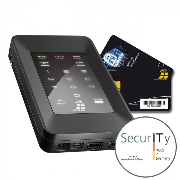 HS256S High Security externe Festplatte